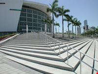 L'ingresso dell'American Airlines Arena