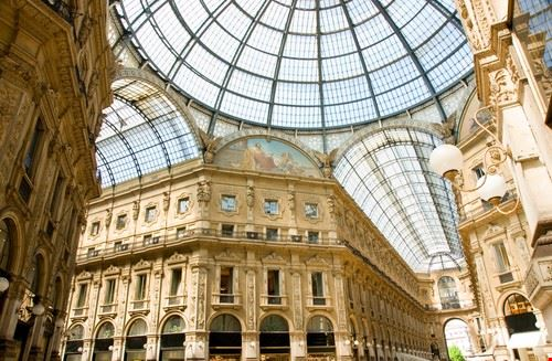 milan galerie vittorio emanuele a milan