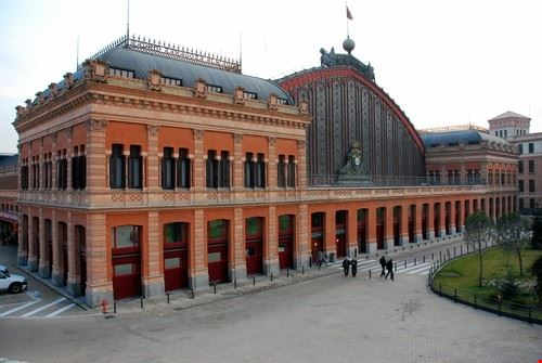 madrid gare d  atocha a madrid
