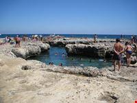 Roca e le sue piscine naturali