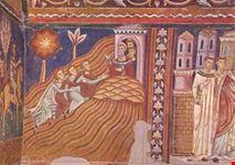 roma basilica ss quattro coronati i messi sul soratte invitano s