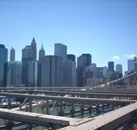 49897 new york visto in lontananza dal ponte di brooklyn