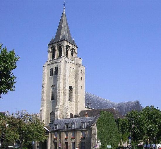 Quartiere Saint Germain des Prés a Parigi