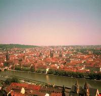 panorama sulla citta di wurzburg wurzburg