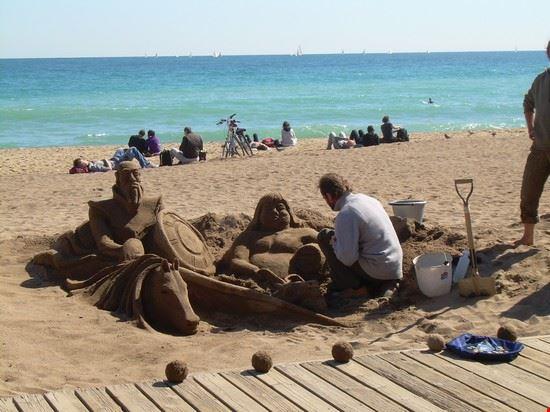 50400 meravigliosa creazione sulla spiaggia barcellona