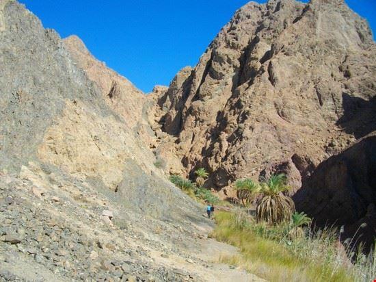 Percorso lungo il Monte Sinai