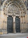 il portale della cattedrale di san vito praga
