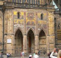 50579 cattedrale di san vito facciata laterale praga
