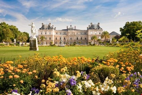 50693 parigi giardino di luxembourg a parigi
