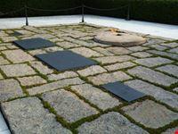 washington la tomba di jfk e della moglie