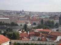 panorama dal castello praga