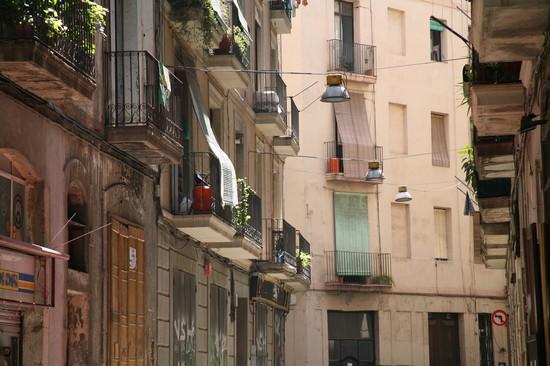 Foto barcelone barrio gotico a barcelone a barcellona for Villaggi vacanze barcellona