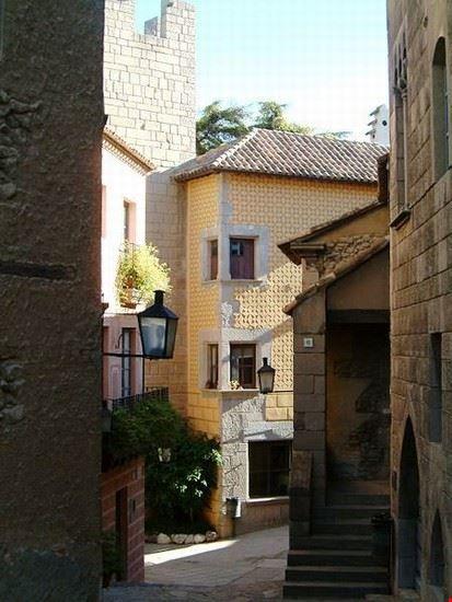 barcelone poble espanyol village espagnol a barcelone