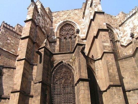 barcelone cathedrale sainte eulalia de barcelone