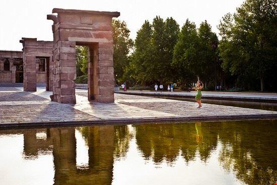madrid parque del oeste tempio di debod