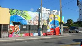 miami murale a little haiti
