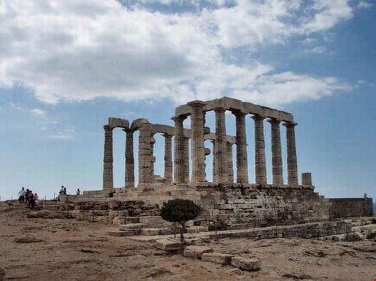 50931 capo sauniontempio di poseidone atene