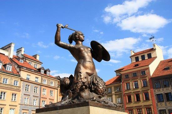 varsavia statua della sirenetta