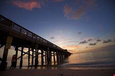 Il molo di Sunny Isles Beach, ideale per pescare