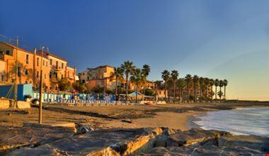 Le spiagge del borgo di ponente