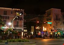 miami espanola way di notte