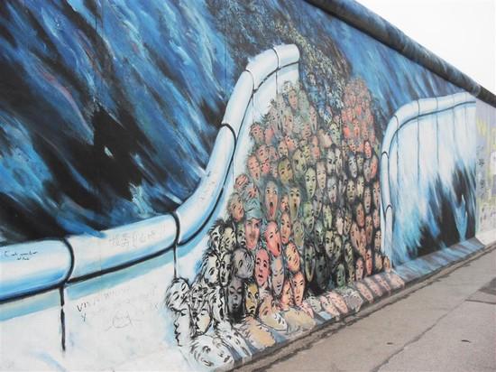 Pianta Muro Berlino : Foto muro di berlino a  autore