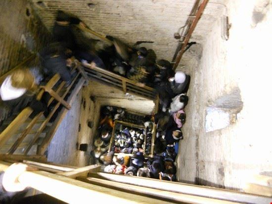 interno torre degli asinelli