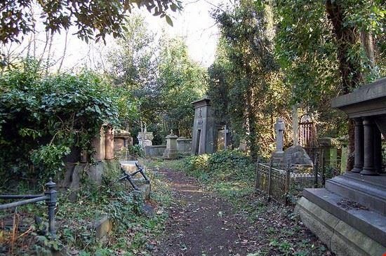 Highgate cemetery a Londra