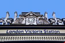 londra victoria station a londra