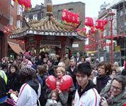 londra capodanno cinese nel quartiere di soho londra