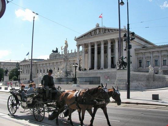 Palazzo del parlamento vienna for Votazioni parlamento