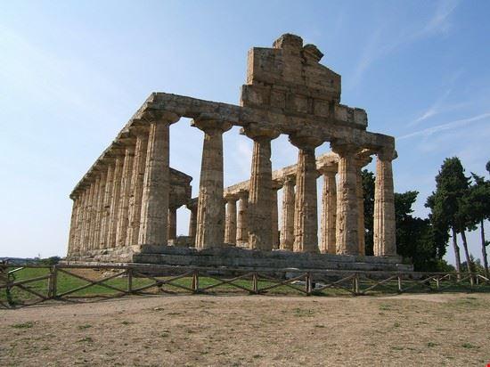 paestum il tempio capaccio