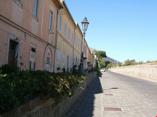 le case degli operai dell'antica seteria di San Leucio
