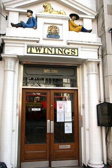 Twinings store a Londra