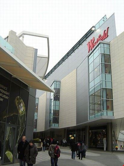 Shopping a Westfield, Londra