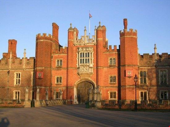 Hampton Court Palace nei dintorni di Londra