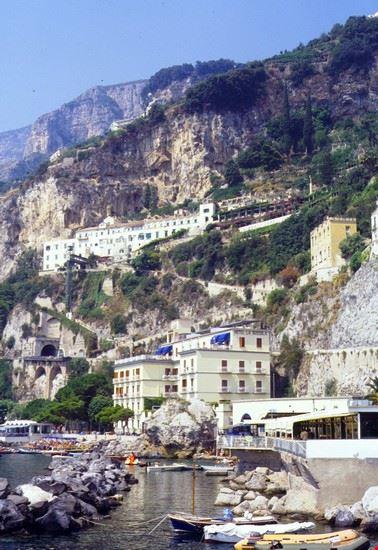 vista panoramica amalfi