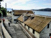 Alcatraz,le abitazioni delle guardie