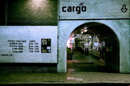 Il club Cargo a Londra