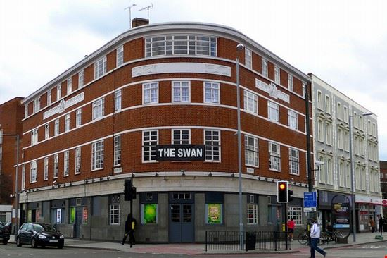Lo Swan a Londra