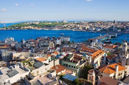 Corne d\'Or Istanbul - Rues, places et quartiers