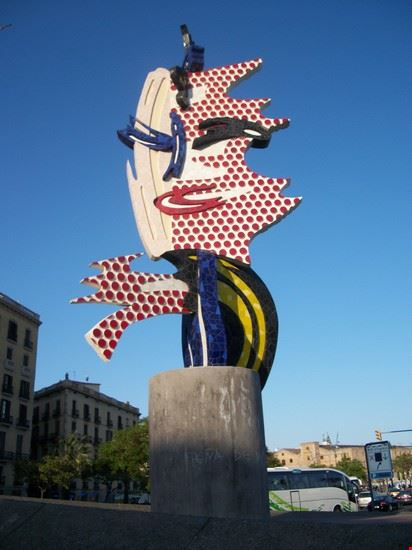 monumento olimpiadio  92 barcellona