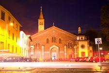 milano chiesa di sant  eustorgio a milano
