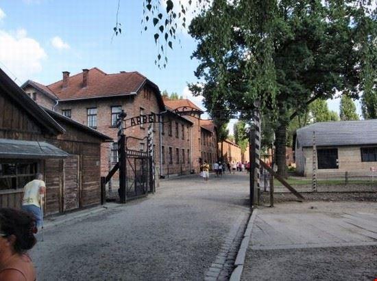 Entrata ad Auschwitz