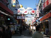 Ameyoko nel quartiere Ueno a Tokyo