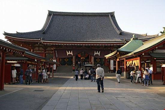Quartiere Asakusa a Tokyo