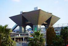 Il complesso fieristico Tokyo Big Sight