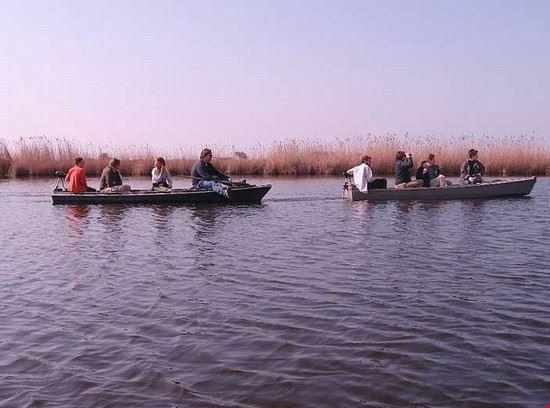 pisa escursione in barchino sul lago di massaciuccoli