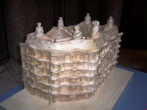 modellino della casa conservato nel sottotetto della casa in esposizione