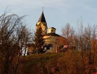 Chiesa di S. Giorgio alla Rocca di Viserano nel Comune di Travo